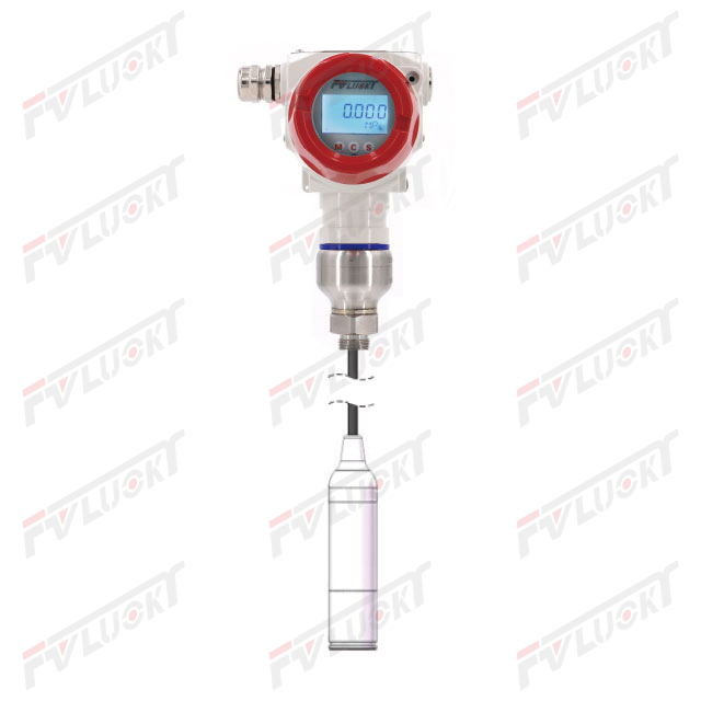 Input level type - pressure gauge